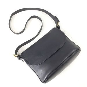 Vintage Coach Fletcher leather crossbody handbag